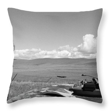 Office Of The Poet Throw Pillow