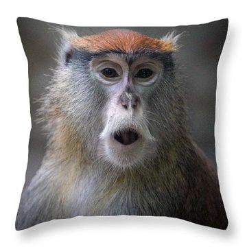 Oh No Throw Pillow