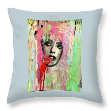 Ohh La Throw Pillow