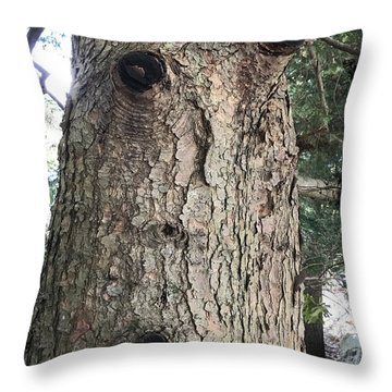 Throw Pillow featuring the digital art Ohhhhhh by Cindy Greenstein