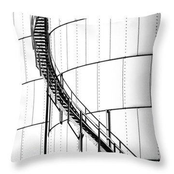 Oil Tank 2 Throw Pillow