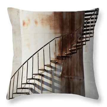 Oil Tank Throw Pillow