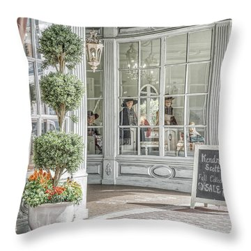 Throw Pillow featuring the photograph Old Days by Joe Paul
