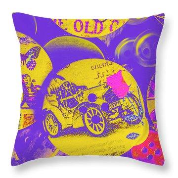 Old Fashion Fix Throw Pillow