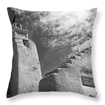 Old Mission Crosses Throw Pillow