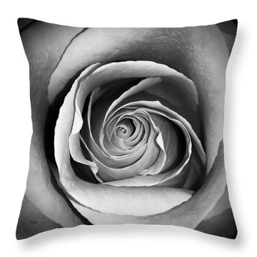 Old Rose Throw Pillow