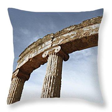 Olympia Relic 1 Throw Pillow
