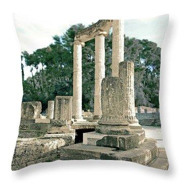 Olympia Relic -2 Throw Pillow
