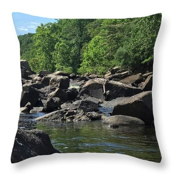 On The Occoquan Throw Pillow