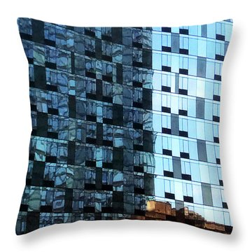 Throw Pillow featuring the photograph On The Sunny Side Of The Street by Rick Locke