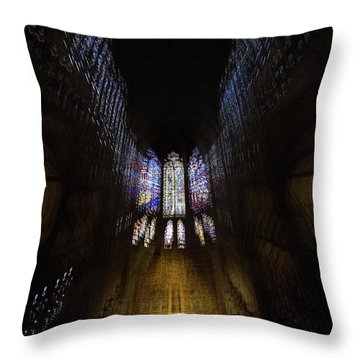 Throw Pillow featuring the photograph On The Wings Of A Dove by Alex Lapidus