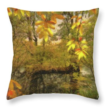 Once A Pond A Time Throw Pillow