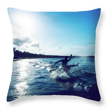 One Last Time Throw Pillow
