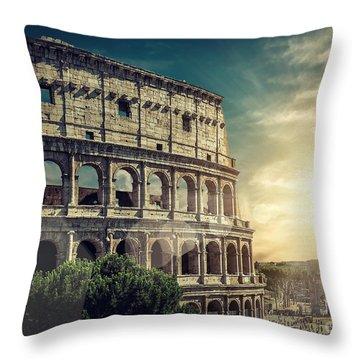 Urban Scene Throw Pillows