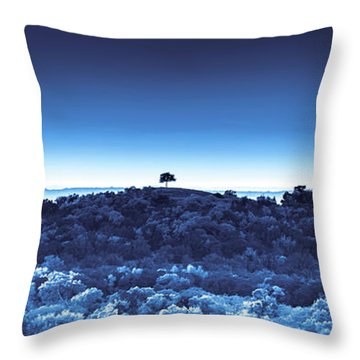 One Tree Hill -blue -2 Throw Pillow