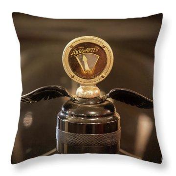 Oneida Truck Hood Ornament Throw Pillow