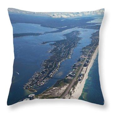 Ono Island-5326 Throw Pillow