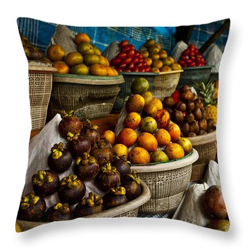 Pile Throw Pillows