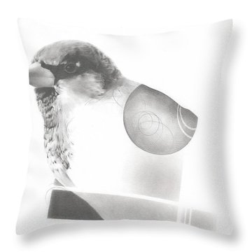 Orbit No. 7 Throw Pillow
