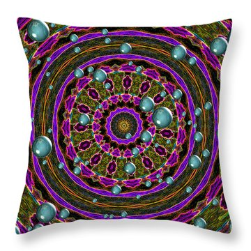 Throw Pillow featuring the photograph Orbital Alignment by Debbie Stahre