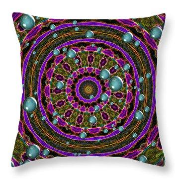 Orbital Alignment Throw Pillow