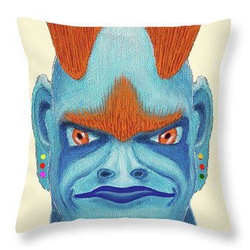Orbyzykhan The Great Throw Pillow