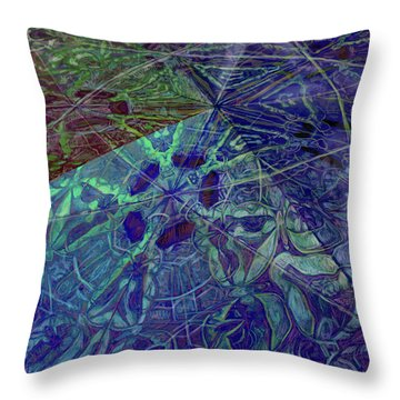 Organica 2 Throw Pillow