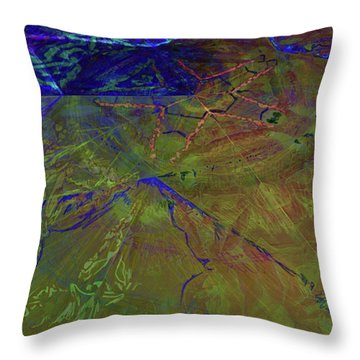Organica 3 Throw Pillow