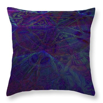 Organica 4 Throw Pillow