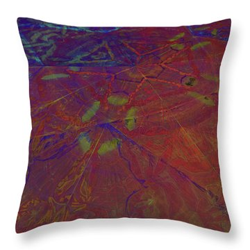 Organica 5 Throw Pillow