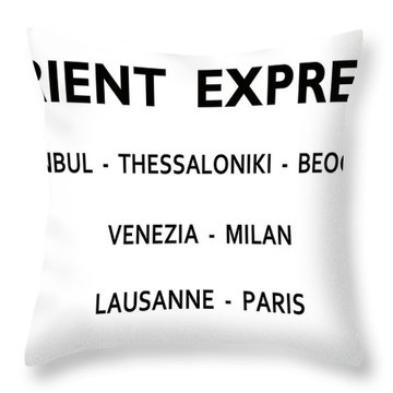 From Russia With Love Throw Pillows