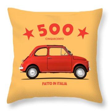 Original 500 Throw Pillow