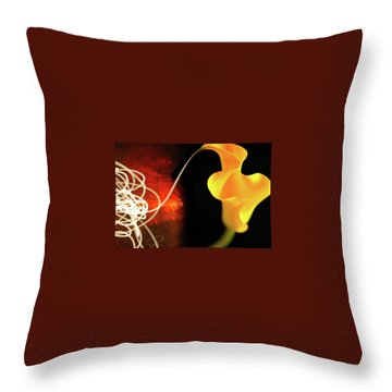 Throw Pillow featuring the photograph Origins by Mark Shoolery