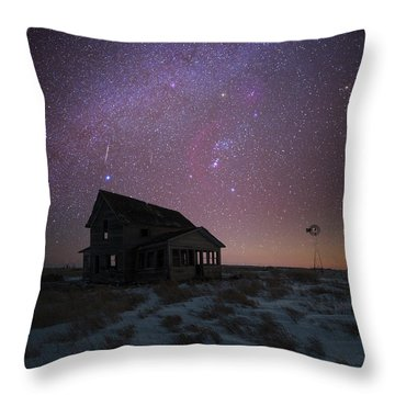 Throw Pillow featuring the photograph Orion  by Aaron J Groen