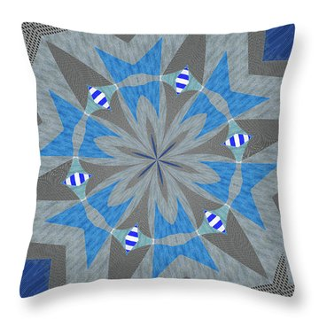 Ornament Number Sixty Throw Pillow