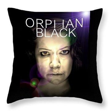 Orphan Black Throw Pillow