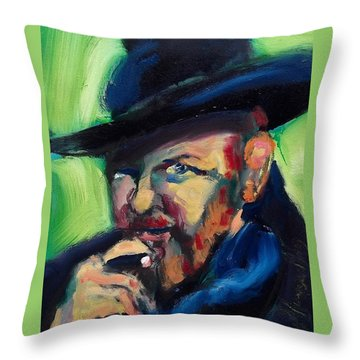 Orson Welles Throw Pillow