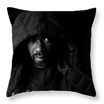 Throw Pillow featuring the photograph Other. by Eric Christopher Jackson