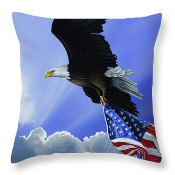 Our Glory Throw Pillow