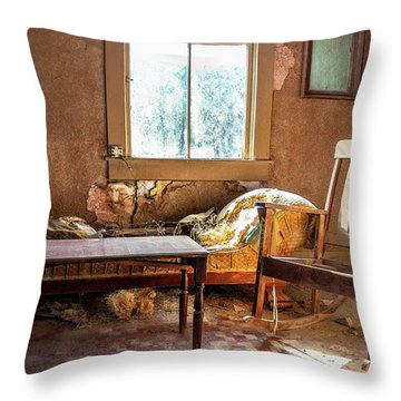 Our Home Of Long Ago Throw Pillow