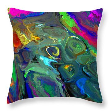 Out Of Shape Throw Pillow