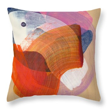 Out Of The Blue 01 Throw Pillow