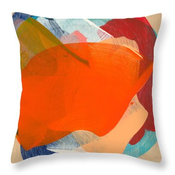 Out Of The Blue 11 Throw Pillow
