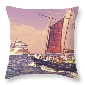 Outclassed Throw Pillow