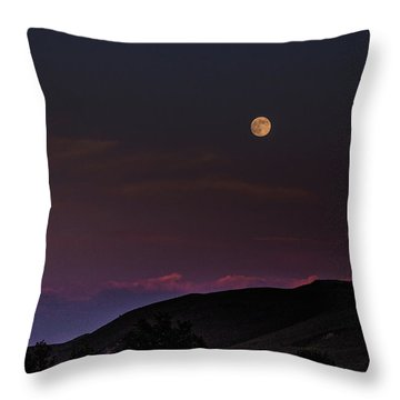 Throw Pillow featuring the photograph Over The Border by Alex Lapidus