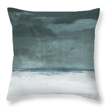 Overcast 2- Art By Linda Woods Throw Pillow