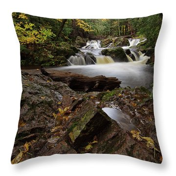 Overlooked Falls 2 Throw Pillow