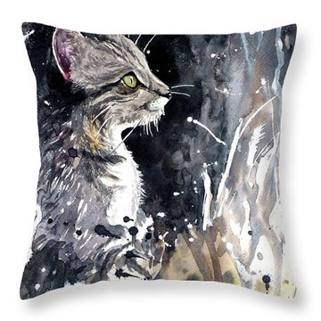 Overnight Call Throw Pillow