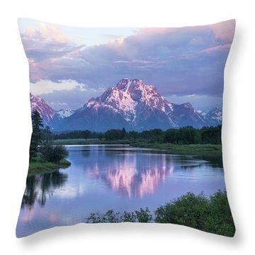 Oxbow Morning 47 Throw Pillow