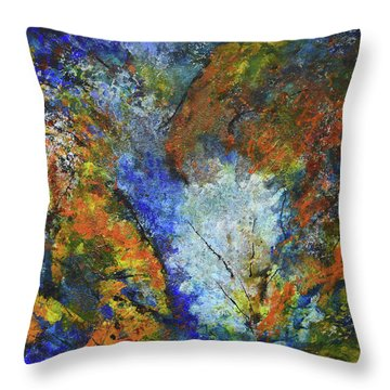 Oxidation Throw Pillow
